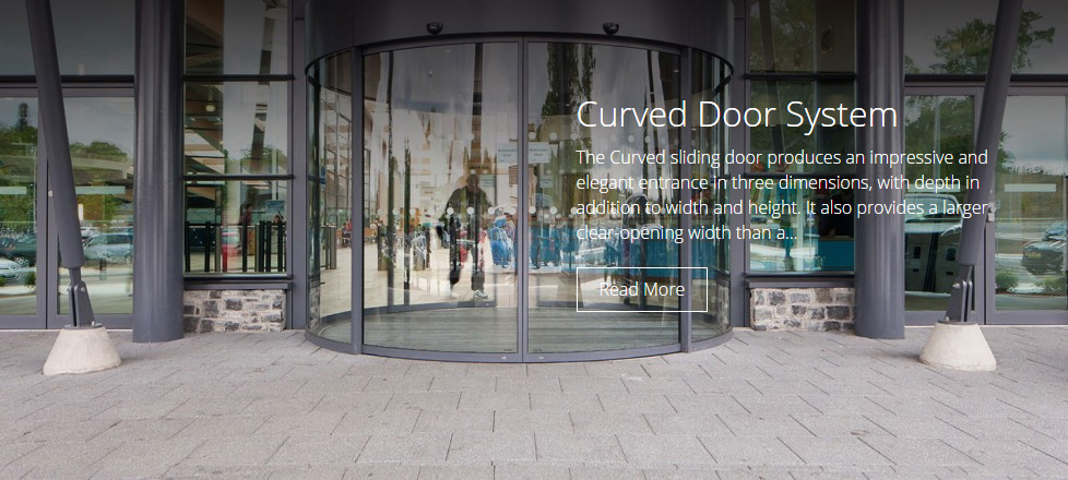 Curved Door System