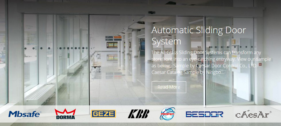 Malaysia Automatic Sliding Door Automatic Roller Shutter Supplier